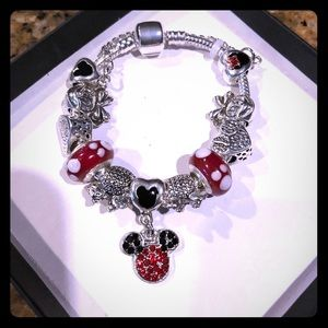 Jewelry - Mickey Minnie Charm Bracelet